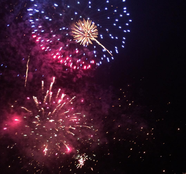 This year we're hoping to go to the Sussex Cricket Firework's evening